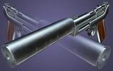 3 Luger-Pistole