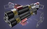 27 Lenkraketen-Werfer