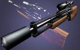 9 Scharfschützengewehr